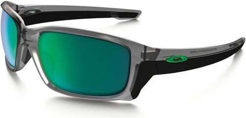 Oakley Straightlink Iridium Sonnenbrille Schwarz/Blau bw50yex